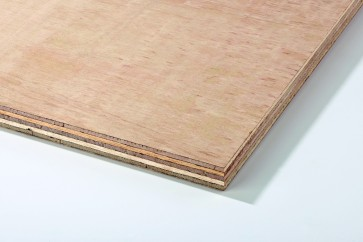 Hardwood Faced Plywood 4mm 8 X4