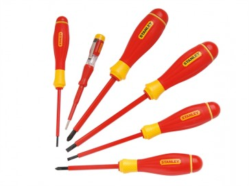 Stanley FatMax Scewdriver Set Insulated Phillips & Parallell 6 Piece