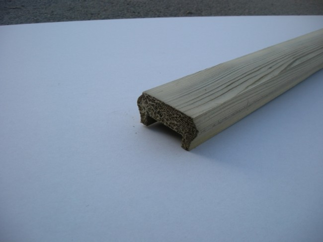 Tanalised decking handrail baserail for Tanalised timber decking