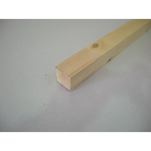 20mm x 20mm (1 x 1) Planed All Round Softwood (Price Per Mtr.)