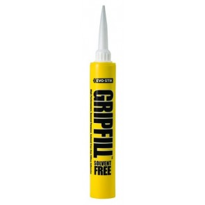 350ml Gripfill Yellow Solvent Free Adhesive (box 12)