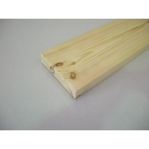 32mm x 95mm (4 x 1½) Planed All Round Softwood (Price Per Mtr.)
