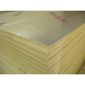 25mm 8 x 4 Kingspan TP10 Insulation or equivalent