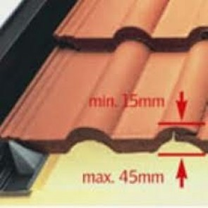 EDZ CK02 Velux Tile Flashing Kit