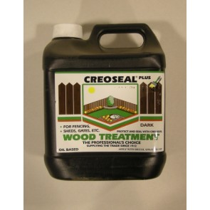 4 Litre Dark Creoseal Wood Treatment