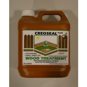 4 Litre Light Creoseal Wood Treatment