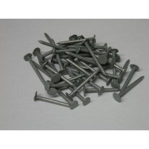 30mm Galvanised Clout Nails (1kg)