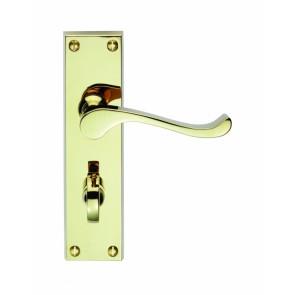 Carlisle Brass CBS54WC Victorian Scroll Lever Bathroom Handles (Pair)