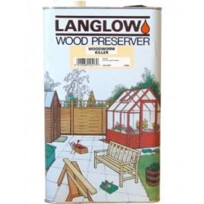5 Litre Woodworm Killer Langlow Wood Preserver