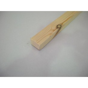 20mm x 45mm (2 x 1) Planed All Round Softwood (Price Per Mtr.)