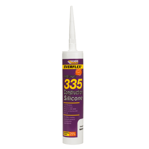 310ml Transparent Everbuild 335 Construction Silicone