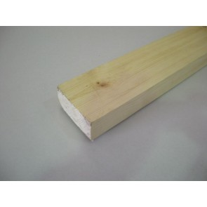45mm x 95mm (4 x 2) Planed All Round Softwood (Price Per Mtr.)