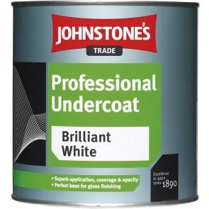 500ml White Johnstones Professional Undercoat