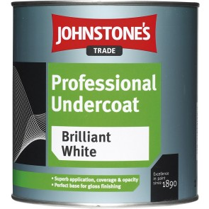 5 Litres White Johnstones Professional Undercoat