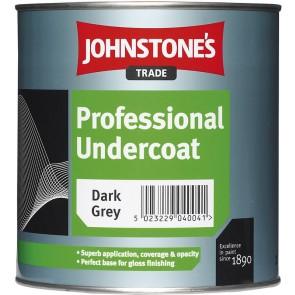 1 Litres Dark Grey Johnstones Professional Undercoat