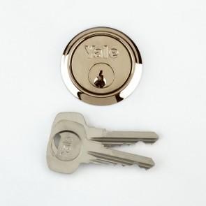 Yale Rim Cylinder Brass (4 Keys)