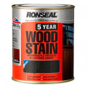 750 ml Mahogany Ronseal 5 Year Woodstain
