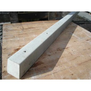 8ft Concrete Holed Fence Post
