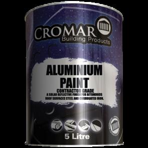 5 Litre Cromar Aluminium Paint