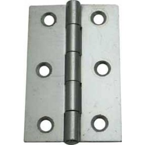 "3"" (75MM) SPECIALIST STEEL BUTT HINGES ZINC PLATED(PAIR)"