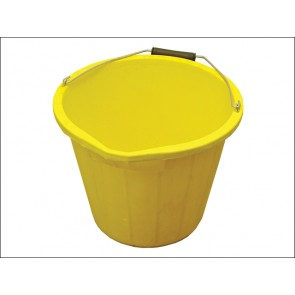 Yellow 3 Gallon Bucket 15 litre
