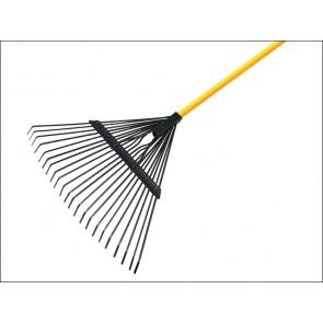 Flexo Leaf Rake - Fibreglass Shaft 22 Tine
