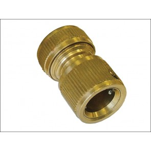 Brass Female Water Stop Connector ½""