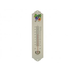 Thermometer Wall Enamel Metal 300mm