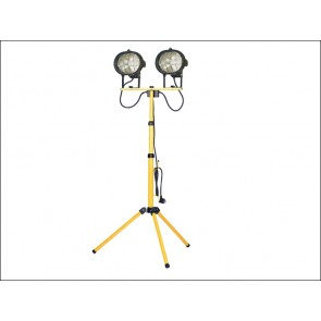 1000 Watt 240 Volt Faithfull Sitelight Twin Adjustable Stand