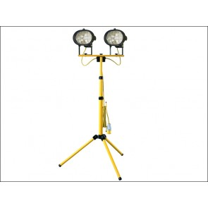 1000 Watt 110 Volt Faithfull Sitelight Twin Adjustable Stand