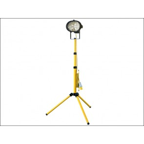 500 Watt 110 Volt Faithfull Sitelight Single Adjustable Stand