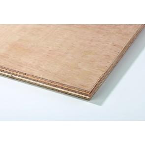 18mm (8'x4') Hardwood Faced Plywood