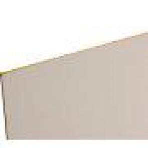 8 x 4 White Faced Hardboard