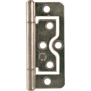"2"" (50mm) SPECIALIST FLUSH HINGE BRASS PLATED(PAIR)"