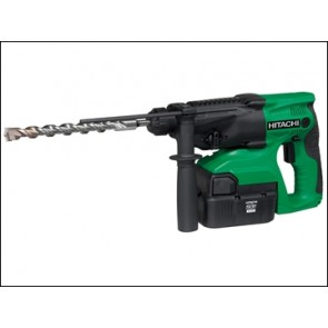 Hitachi DH24 DVC SDS Plus Hammer Drill 3 Mode 24 Volt 2 x 2.0AH NiMH