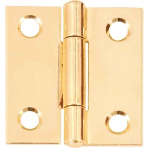 "1""X3/4"" SPECIALIST SOLID DRAWN BRASS HINGES(PAIR)"