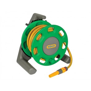 Compact Hose Reel 30m + 25 Metres of 12.5mm Hose