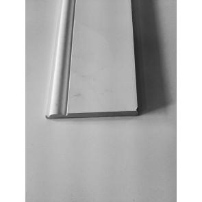 4.4mtr 18mm x 168mm White Primed Torus MDF Skirting Board