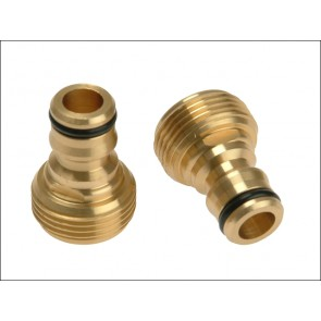 Brass Male Connector ¾""