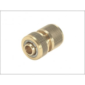 Brass Female Connector ½""