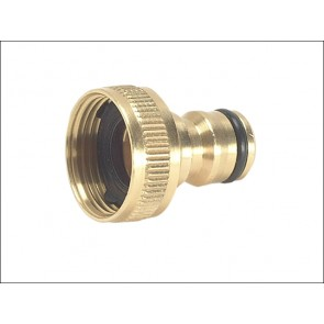Brass Tap Connector ¾""