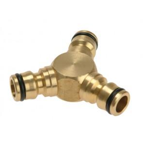 """Brass Y Connector ½"""""""