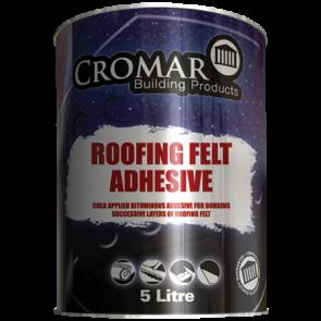 5 Litre Cromar Roofing Felt Adhesive