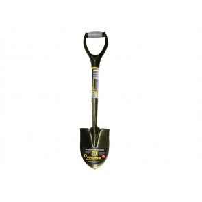 Roughneck Micro Round Shovel With 27-inch Handle
