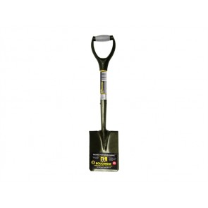 Roughneck Micro Square Shovel With 27-Inch Handle