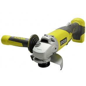 Ryobi One+ Green Angle Grinder 18 Volt Supplied with 115mm (4.1/2in) disc