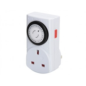 SMJ Electrical MCT1PC-SH 24 Hour Compact Mechanical Timer