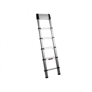 3.3m Telesteps Black Line Telescopic Ladder + Top Support + Bag