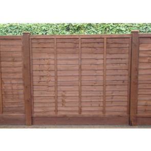6ft x 6ft Waney Lap Fence Panel