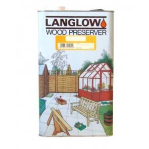 5 Litre Dark Brown Langlow Wood Preserver